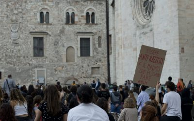 Futura in piazza per I can't breathe – Black Lives Matter