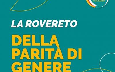 """ROVERETO FUTURA, QUATTRO AZIONI CONTRO GLI """"SQUILIBRI DI GENERE"""""""