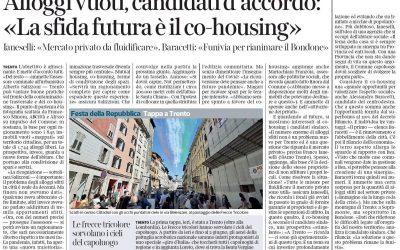 Intervento dell'assessore comunale di Trento Alberto Salizzoni su alloggi vuoti e co-housing