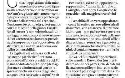 La differenza tra minoranza e opposizione – Paolo Ghezzi