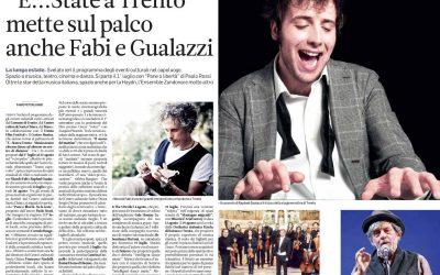 E…state a Trento, una programmazione culturale ambiziosa a cura del nostro Corrado Bungaro