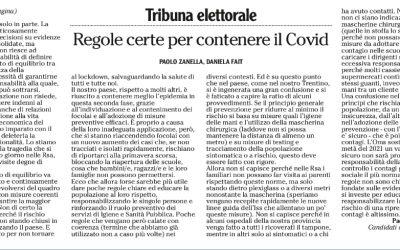 Regole certe per contenere il Covid-19
